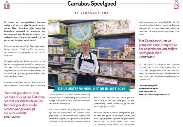 Carrabas Leukste Winkel AD 2017