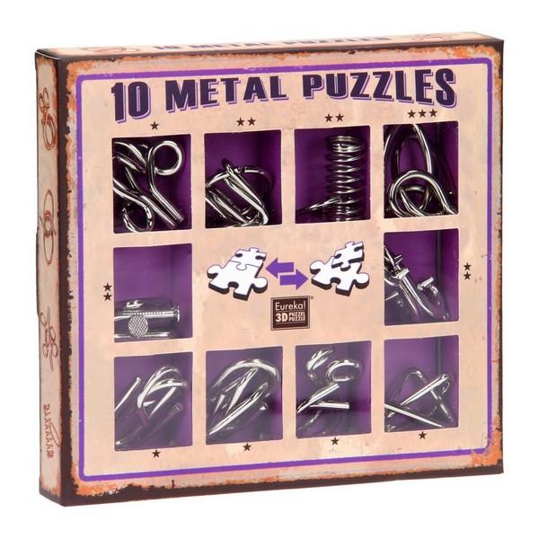 Eureka metalen denkpuzzel
