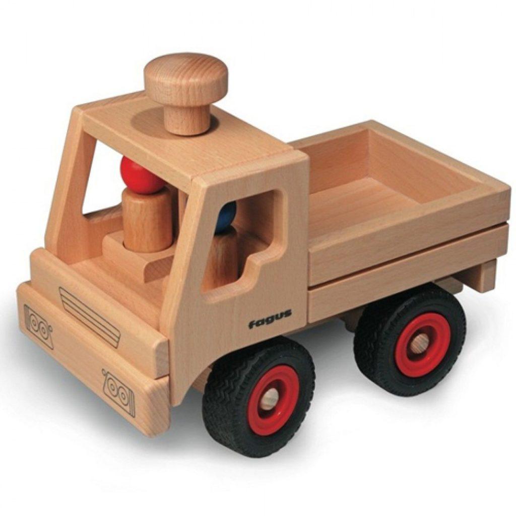 Fagus houten vrachtwagen