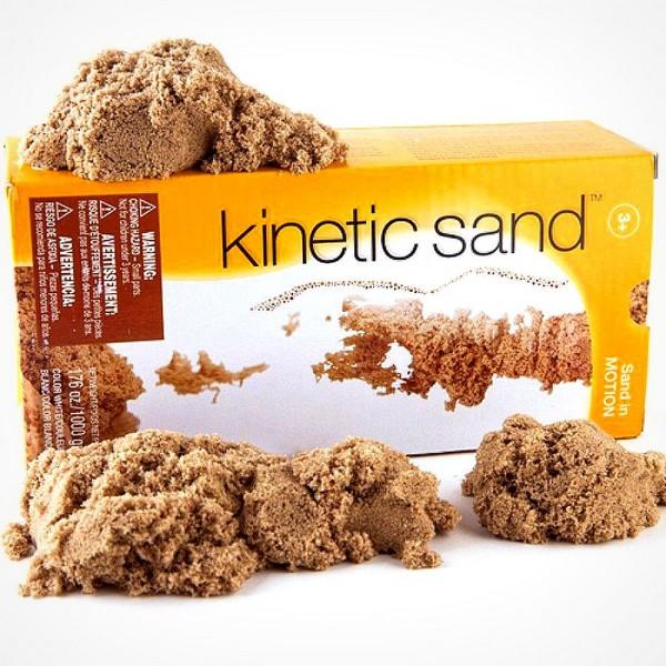 Kinetic Sand doos 1kg impressie
