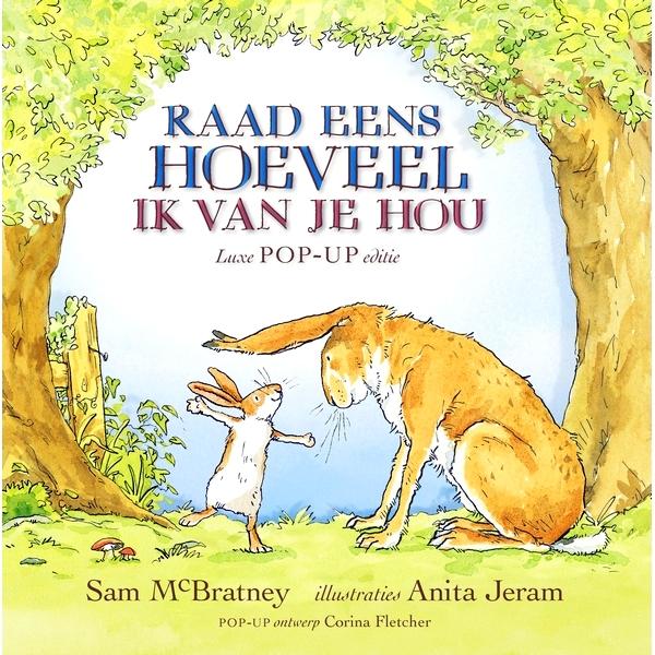 Lemniscaat kinderboeken Raad eens hoeveel ik van je hou haas konijn voorleesboek