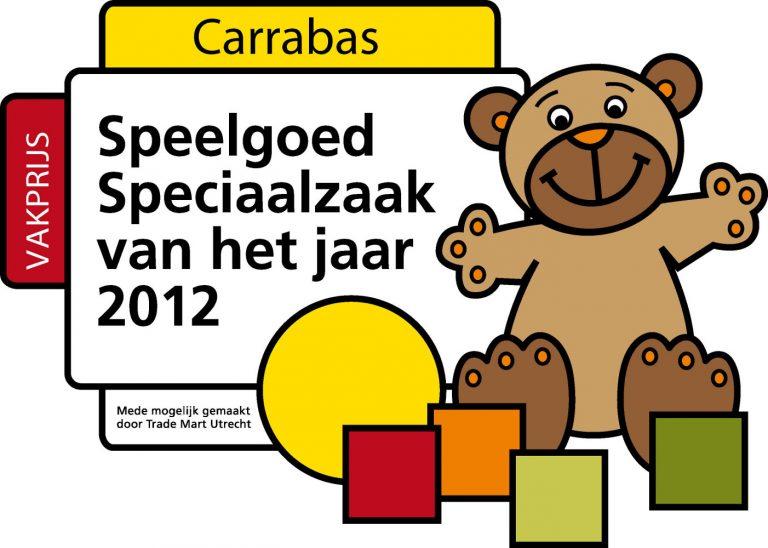 Carrabas Vakprijs Speciaalzaak van het jaar 2012