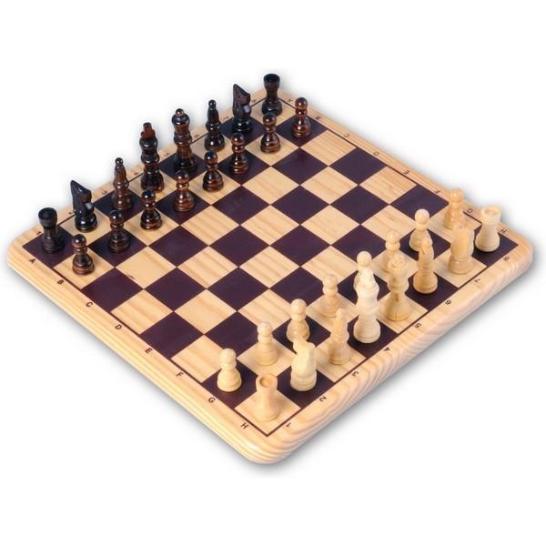 Longfield Games schaakspel 30 bij 30 centimeter