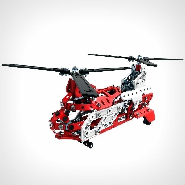 Meccano helikopter bouwspeelgoed