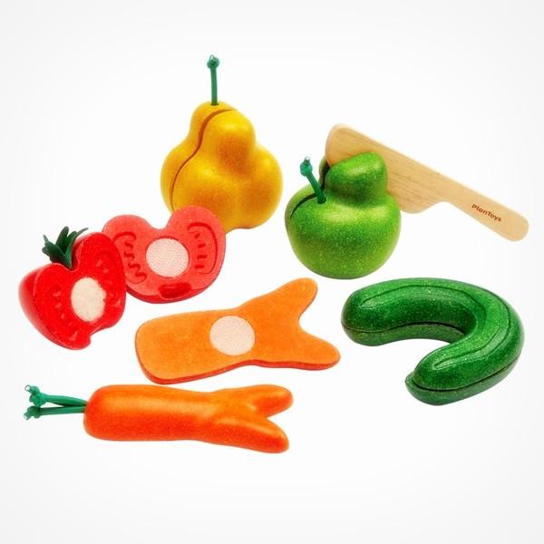 Plan Toys Kromkommer rollenspel speelgoed groenten fruit