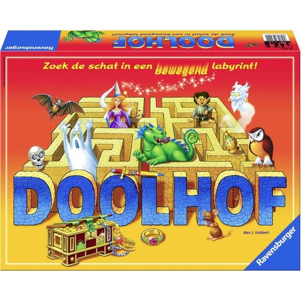 Ravensburger Doolhof bewegend labyrint bordspel