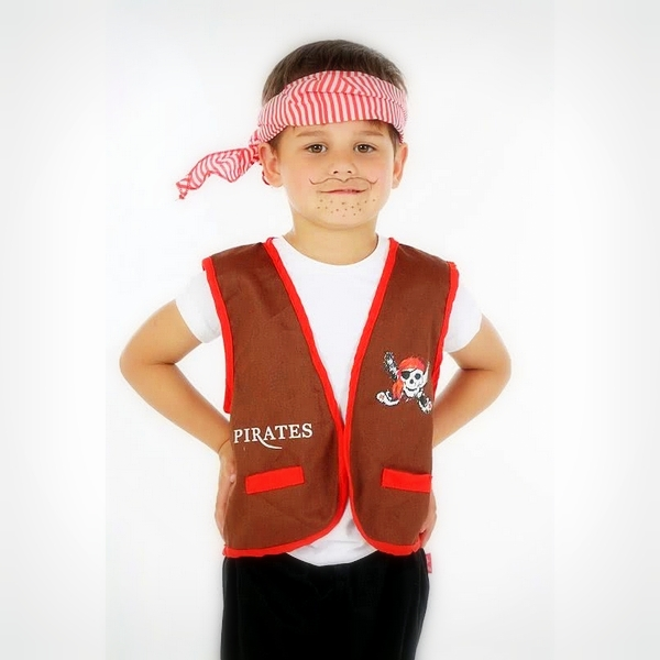 Rose Romeo verkleedkleding piraten thema