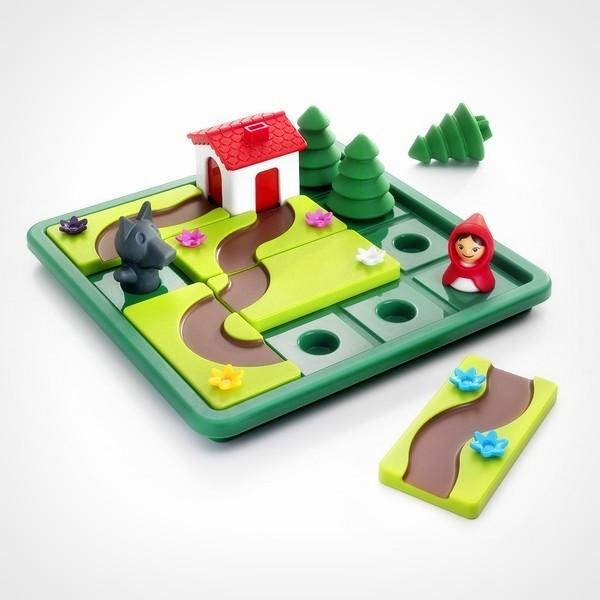 SmartGames Roodkapje Deluxe denkspel puzzel met opdrachten