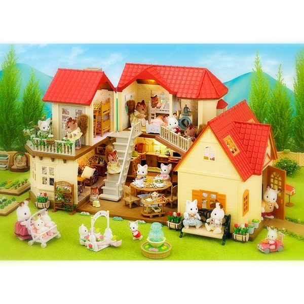 Sylvanian Families City House with Lights impressie
